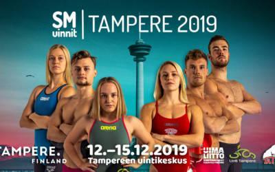 SM-kilpailut Tampereella 12.-15.12.